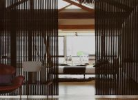 Бамбуковые шторы на дверной проем2