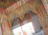 Бамбуковые шторы на дверной проем3