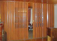 Пластиковые шторы на дверной проем3