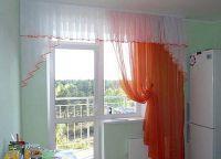 Шторы на окно с балконной дверью 10