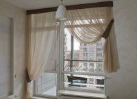 Шторы на окно с балконной дверью 11