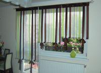 Шторы на окно с балконной дверью 3