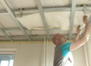 Шумоизоляция потолка22