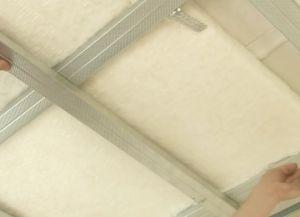 Шумоизоляция потолка23