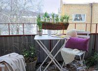 Складной столик на балкон2