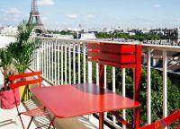 Складной столик на балкон6