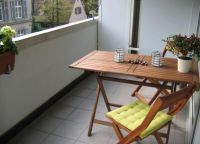 Складной столик на балкон7