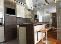 Современный дизайн кухни12