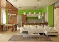 Современный интерьер гостиной1