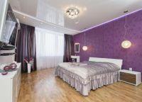 Спальня в фиолетовых тонах9