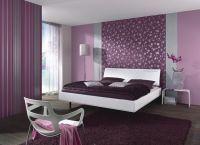 Спальня в фиолетовых тонах1
