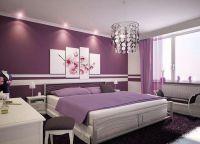 Спальня в фиолетовых тонах2