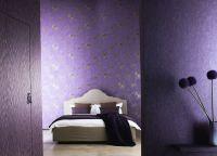 Спальня в фиолетовых тонах3