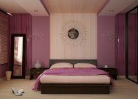 Спальня в фиолетовых тонах5