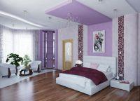 Спальня в фиолетовых тонах7