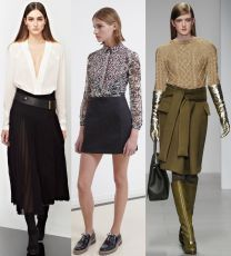 стильные юбки 2015