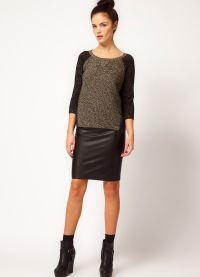 стильные юбки 2015 5