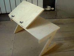 Стол для ноутбука своими руками