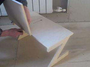 Стол для ноутбука своими руками 15