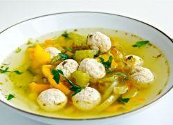 суп с сельдереем и курицей