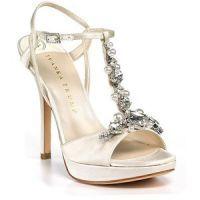 Свадебные босоножки на высоком каблуке 2