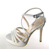 Свадебные босоножки на высоком каблуке 3