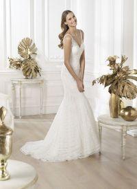 Свадебные платья Рronovias 2014 5