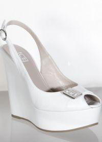 Свадебные туфли на платформе 8