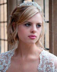 Cвадебный макияж для блондинок 9