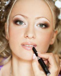 Cвадебный макияж для блондинок 1