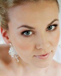 Cвадебный макияж для блондинок 5