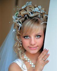 Cвадебный макияж для блондинок 8