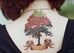 Тату дерево - значение