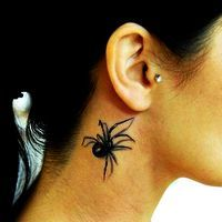 Тату паук – значение