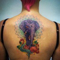 Тату слон значение