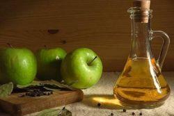 яблочный уксус от сосудистых звездочек