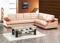 угловой диван кожа1