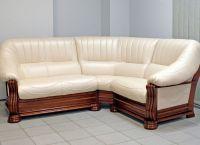 угловой диван кожа2