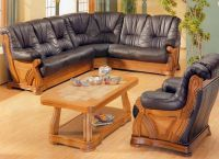 угловой диван кожа3