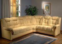 угловой диван кожа5