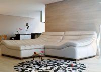 угловой диван кожа9
