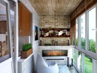 Уютный балкон9