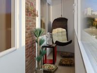 Уютный балкон6