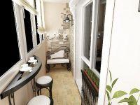 Уютный балкон8