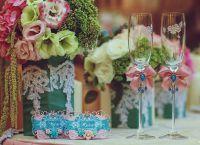 украшение свадебного стола3