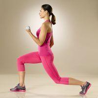 Упражнения для похудения с гантелями