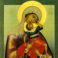 В чем помогает икона «взыграние младенца»?