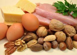 В чем содержится белок?