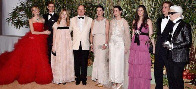 В монако состоялся ежегодный бал роз