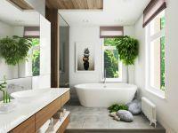 Ванная комната в частном доме 6